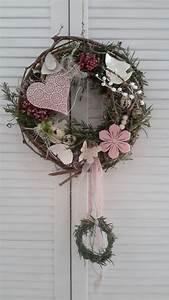 Türkranz Frühling Modern : t rkr nze t rkranz metallherz rosa ein designerst ck von decor it bei dawanda v nce ~ A.2002-acura-tl-radio.info Haus und Dekorationen