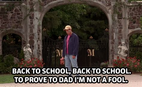 Billy Madison Back To School Meme - what do adam sandler kids and retailers have in common