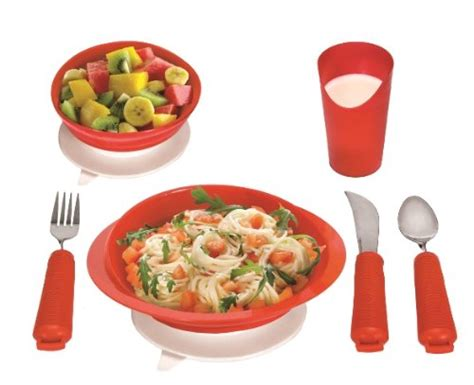 plates elderly table medical essential setting supply complete power eating