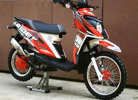 Yamaha X Ride Modifikasi by Modifikasi Yamaha X Ride 125 Touring Desain Yamaha