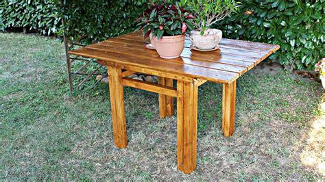 tavolo giardino fai da te come costruire un tavolo in legno fai da te