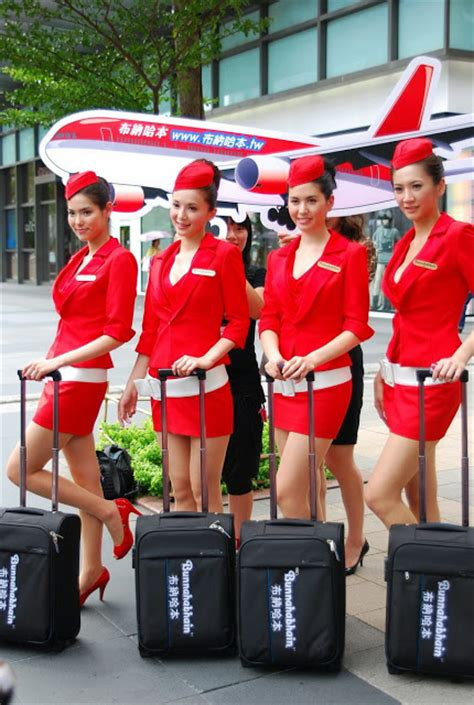 Bunnahabhain Promoters Play Stewardess Costume In Taiwan ~ World Stewardess Crews