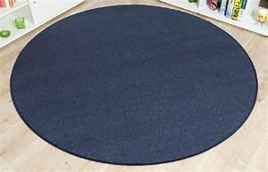 Teppiche Rund 200 : imut gesch ft schlingen teppich torronto blau rund gr e ausw hlen 200 cm rund get rabate ~ Markanthonyermac.com Haus und Dekorationen