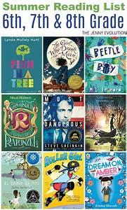 Summer Reading List 6th Grade, 7th Grade & 8th Grade