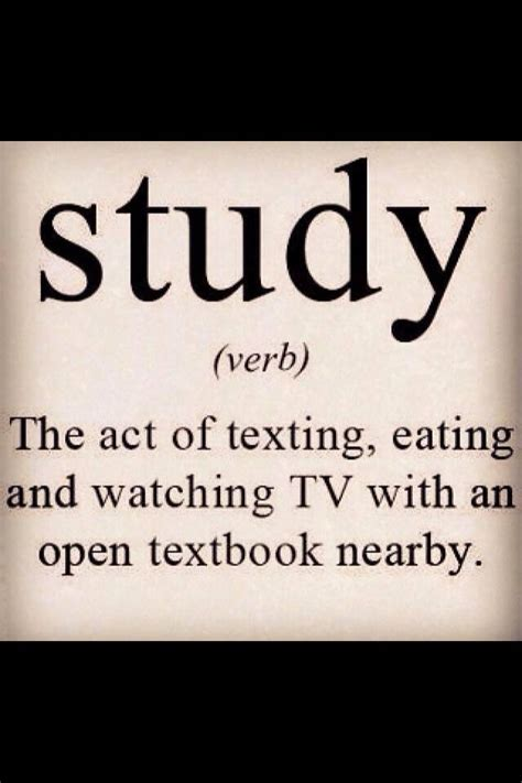 Funny Studying Quotes For College