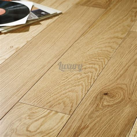 hardwood flooring thickness 180mm pearl satin lacquered engineered european oak wood flooring 14 3mm thick