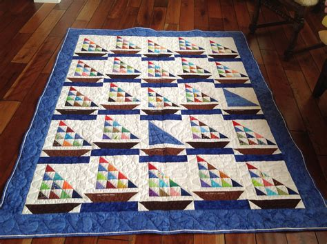 Sailboat Quilt by Sailboat Quilt