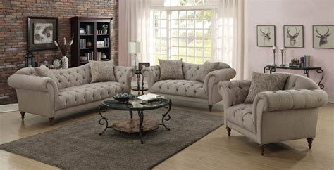 sofa loveseat set alasdair button tufted fabric loveseat co 505572