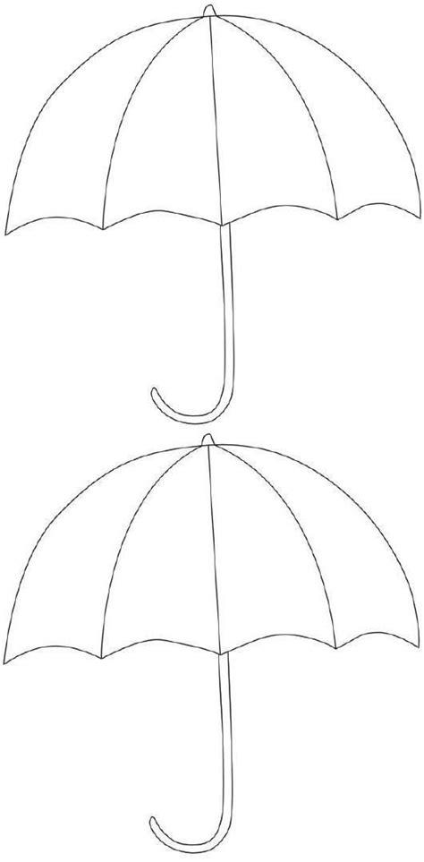 printable umbrella template kuvis syksy