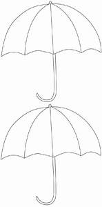 FREE Printable Umbrella Template | Kuvis, syksy ...