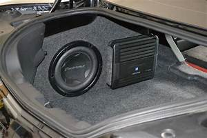 Sub And Amp Installed - Moderncamaro Com