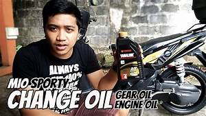 Yamaha Mio Sporty  How To Change Oil