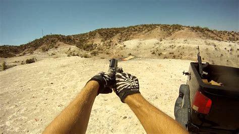 guns gopro hd shooting  person   ak  sr youtube