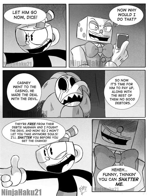 chapter  page  cuphead art blog comics  art