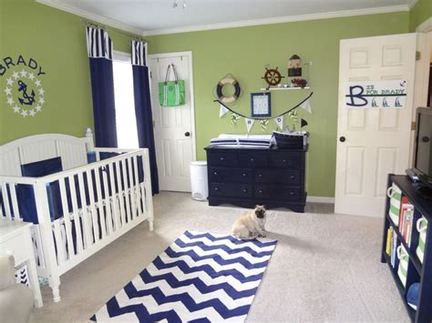 chambre garcon vert deco chambre bebe garcon bleu et vert