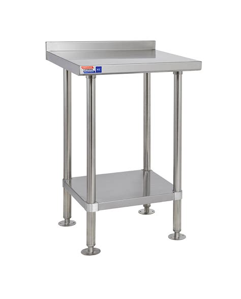 stainless steel table l stainless steel wall table sswb224 stainless steel tables