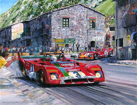 automobile art watts nicholas targa florio