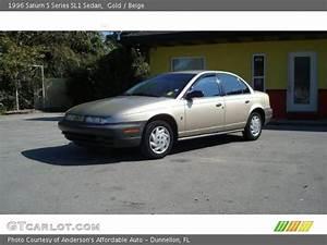 Gold - 1996 Saturn S Series Sl1 Sedan