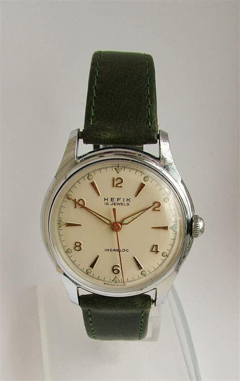 Vintage 1950s Gents Hefik Wrist Watch | 278309 ...