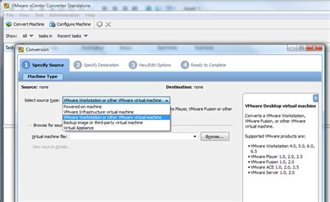 convert to template grayed out vmware using vmware vcenter converter 4 to create a virtual