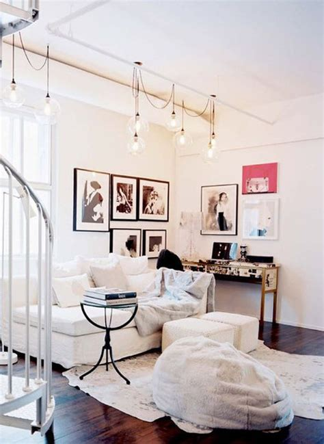 hanging lights for living room how to decorate with white lights