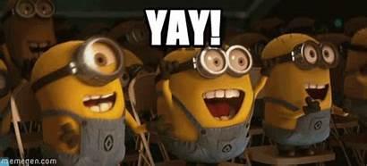 Yay Minions Happy Winner Gifs Yey Team