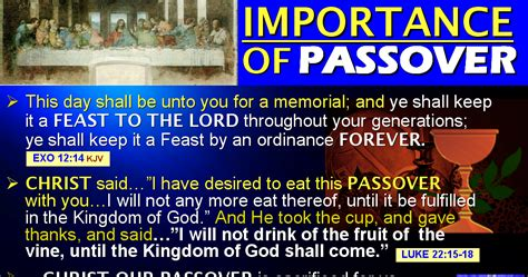 The Bride Christ Ministry Life Passover Why