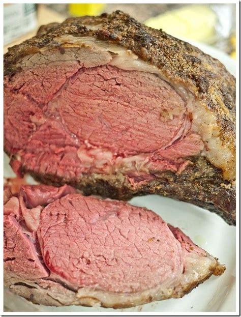 recipe for prime rib the perfect prime rib roast recipes pinterest
