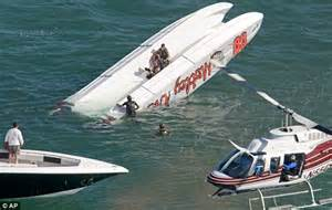 Havasu Boat Crash Yesterday by Pin Racing Catamaran On