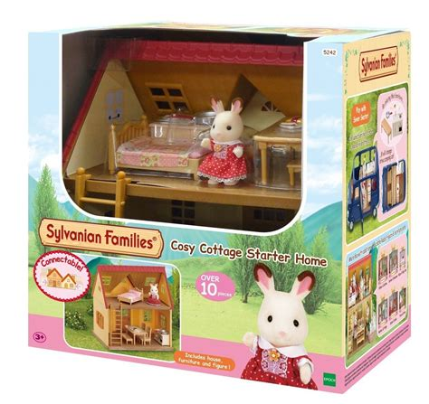 sylvanian families cottage sylvanian families cosy cottage starter house at