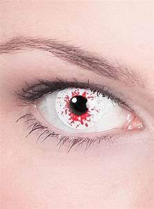 White Contact Lenses No Pupil