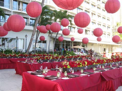 decoration de mariage rouge mariageoriginal