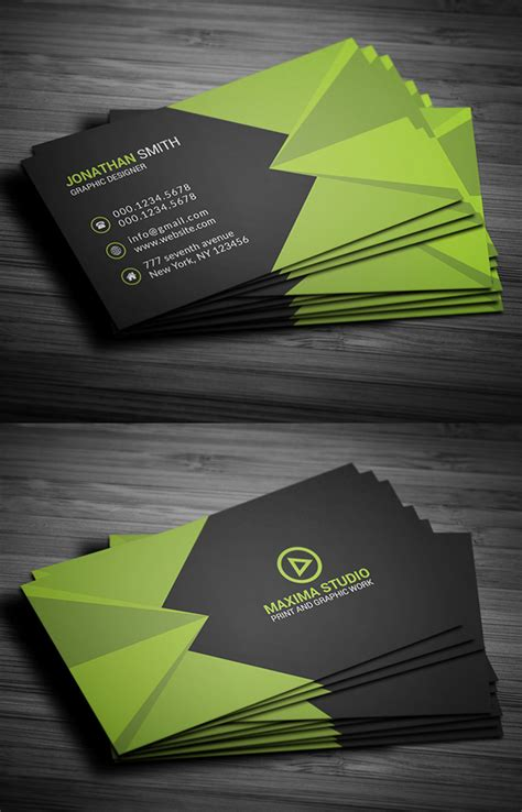 business card templates freebies graphic design