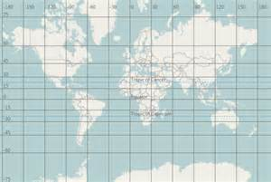 Map Grid with Coordinates