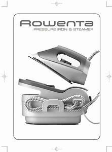 Rowenta Pressure Iron And Steamer Manual