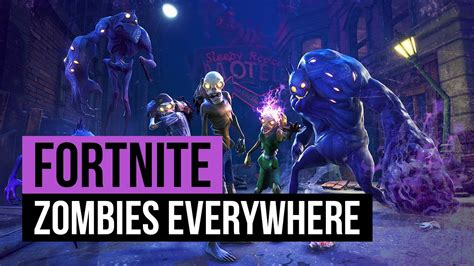 fortnite zombies  goal  subs youtube