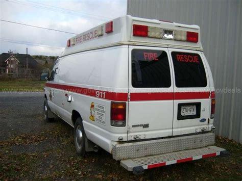 1993 Ford Econoline E350 Super Ambulance Type Ii