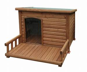 Hundehütte Mit Terrasse : basu futter hundeh tte mit terrasse ~ Watch28wear.com Haus und Dekorationen