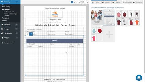 product order forms gt easily create order forms catalogs