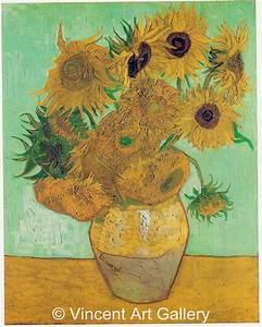 Still Life: Vase with Twelve Sunflowers by Vincent van ...