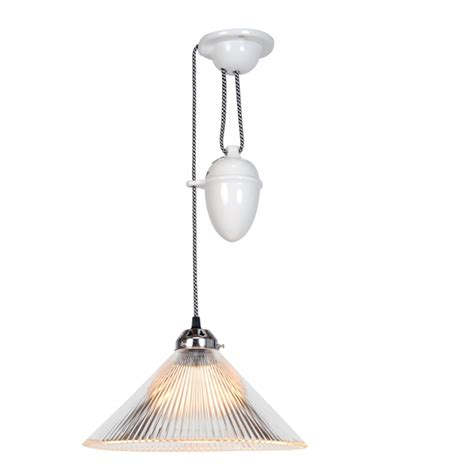 coolie prismatic rise and fall pendant light