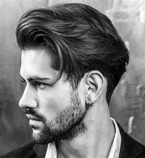 alpha male haircut medium length hairstyles  guys