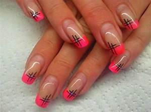 pink-nail-tip-designs - Easyday