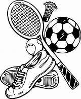 Sports Coloring Pages Drawing Activities Painting sketch template