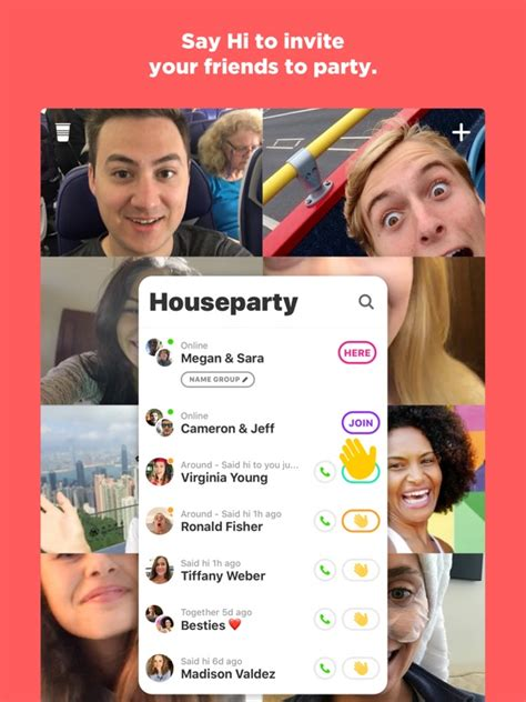 houseparty group video chat tips cheats vidoes