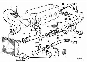 Original Parts For E30 318i M40 Cabrio    Engine   Cooling System Water Hoses