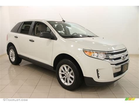 2013 Ford Edge Se by 2013 White Suede Ford Edge Se 113900928 Gtcarlot