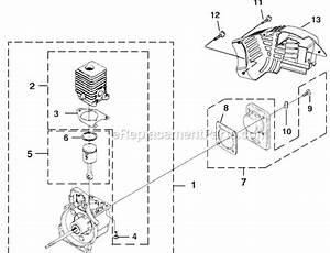 Homelite Ut08110 Parts List And Diagram
