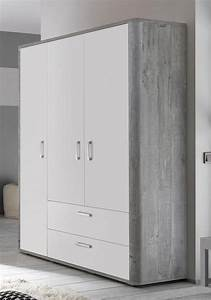 Kleiderschrank Weiß Vintage : kleiderschrank aarhus in vintage grau wei matt lack ~ Watch28wear.com Haus und Dekorationen