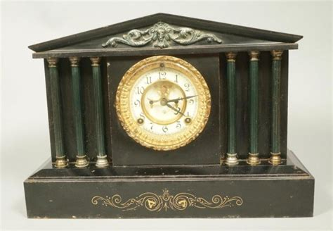 Ansonia Clock Architectural Temple Mantle Clock Price Guide